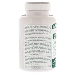 OMEGA 3 Fischöl 1000 mg Kapseln 120 Stück - Linke Seite