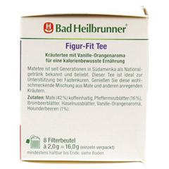 BAD HEILBRUNNER Tee Figur Fit Fastenunterstützung 8 Stück - Linke Seite