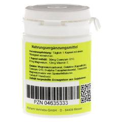 COENZYM Q10 m.Vitamin E Kapseln 60 Stück - Linke Seite