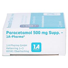 Paracetamol 500mg-1A Pharma 10 Stück N1 - Linke Seite