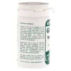 GLUTATHION 200 mg+Spirulina Kapseln 60 Stück - Linke Seite