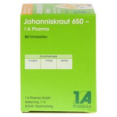 JOHANNISKRAUT 650-1A Pharma Filmtabletten 90 Stück - Linke Seite