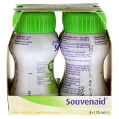 SOUVENAID Vanillegeschmack 4x125 Milliliter - Linke Seite