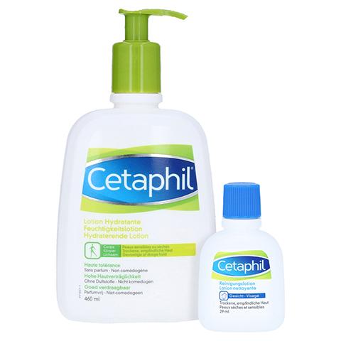 Cetaphil Lotion + gratis Cetaphil Reinigungslotion 29 ml 460 Milliliter