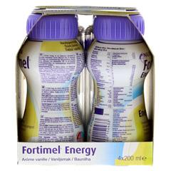 FORTIMEL Energy Vanillegeschmack 8x4x200 Milliliter - Rechte Seite
