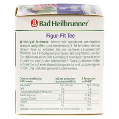 BAD HEILBRUNNER Tee Figur Fit Fastenunterstützung 8 Stück - Rechte Seite