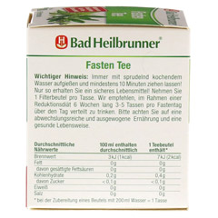 BAD HEILBRUNNER Fastentee Filterbeutel 8 Stück - Rechte Seite