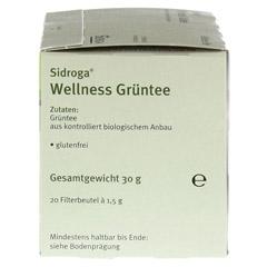 SIDROGA Wellness Grüntee Filterbeutel 20x1.7 Gramm - Rechte Seite
