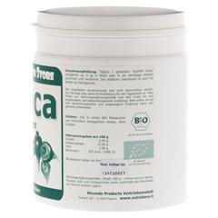 MACA 100% Pur Bio Pulver 500 Gramm - Rechte Seite