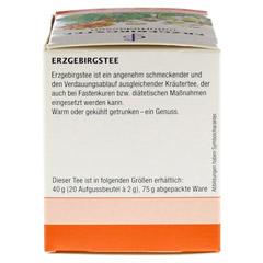 ERZGEBIRGSTEE Filterbeutel 20x2 Gramm - Rechte Seite