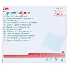 TEGADERM 3M Alginate Kompressen 10x10 cm 90112 10 Stück - Vorderseite