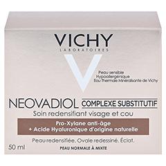 Vichy Neovadiol Tagespflege für normale und Mischhaut 50 Milliliter - Rückseite