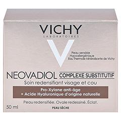 VICHY Neovadiol Ausgleichender Wirkstoffkomplex trockene Haut + gratis Neovadiol Nacht 15 ml 50 Milliliter - Rückseite