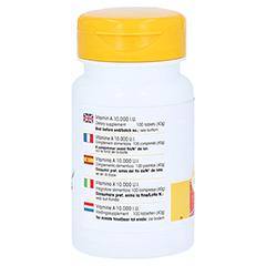 Vitamin A 10.000 I.E. Tabletten 100 Stück - Rechte Seite
