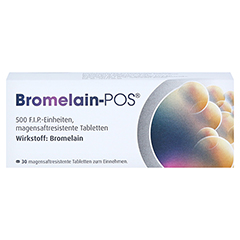 Bromelain-POS 30 Stück - Vorderseite