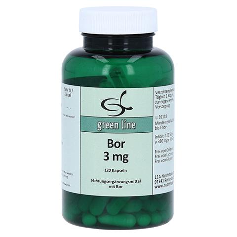 BOR 3 mg Kapseln 120 Stück