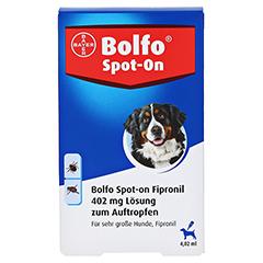 BOLFO Spot-On Fipronil 402 mg Lsg.f.sehr gro.Hunde 3 Stück - Vorderseite