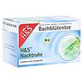 H&S Bio Bachblüten Nachtruhe Filterbeutel 20x1.5 Gramm