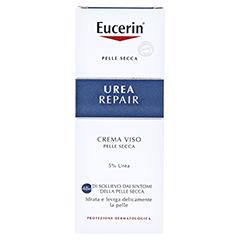 EUCERIN UreaRepair Gesichtscreme 5% + gratis Eucerin UreaRepair PLUS Handcreme 30 ml 50 Milliliter - Rückseite