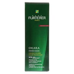FURTERER Okara Farbschutz Shampoo sulfatfrei 200 Milliliter - Rückseite