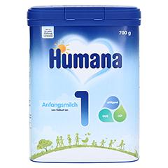 HUMANA Anfangsmilch 1 Pulver 700 Gramm - Vorderseite