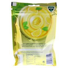 WICK Zitrone & natürliches Menthol Bonb.m.Zucker 72 Gramm - Rückseite