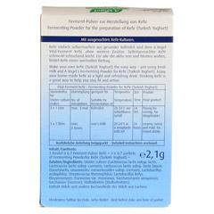 VITAL FERMENT Kefir Beutel 3x0.7 Gramm - Rückseite