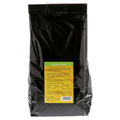 CHLORELLA GREENVALLEY 200 mg Tabletten NF 1000 g 5000 Stück - Rückseite