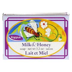 KAPPUS Milch und Honig Transp.Seife 100 Gramm - Rückseite