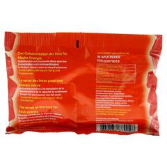 GUARANA FITBON Bonbons 75 Gramm - Rückseite