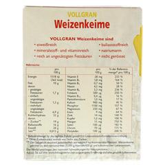 WEIZENKEIME Vollgran Grandel Kerne 250 Gramm - Rückseite