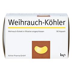 WEIHRAUCH-KÖHLER Kapseln 90 Stück - Vorderseite