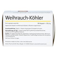 WEIHRAUCH-KÖHLER Kapseln 90 Stück - Rückseite