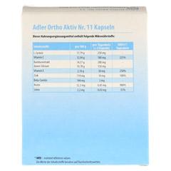 ADLER Ortho Aktiv Kapseln Nr.11 60 Stück - Rückseite