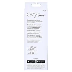 BEURER OT20 Basalthermometer+Zyklus-App Ovy 1 Stück - Rückseite