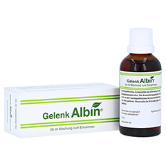 GELENK ALBIN Tropfen zum Einnehmen 50 Milliliter N1