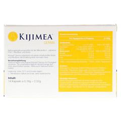 KIJIMEA Derma Kapseln 14 Stück - Rückseite