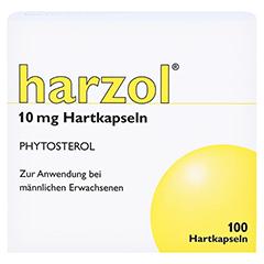 HARZOL Hartkapseln 100 Stück - Vorderseite