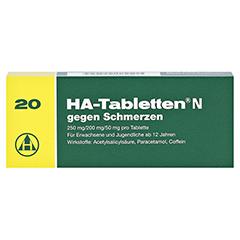 HA-Tabletten N gegen Schmerzen 20 Stück N2 - Vorderseite