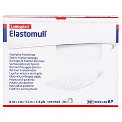 Elastomull 4mx8cm 2101 elastische Fixierbinde 20 Stück - Vorderseite