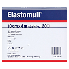 ELASTOMULL 10 cmx4 m 2102 elast.Fixierb. 20 Stück - Rückseite