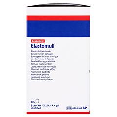 Elastomull 4mx8cm 2101 elastische Fixierbinde 20 Stück - Rechte Seite