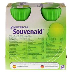 SOUVENAID Vanillegeschmack 4x125 Milliliter - Rückseite