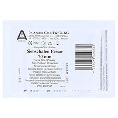 ARABIN Siebschalen Pessar Silicon 70 mm 1 Stück