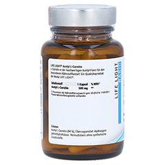 Acetyl-l-carnitin 500 mg Kapseln 60 Stück - Rechte Seite