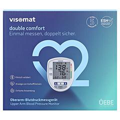 VISOMAT double comfort Oberarm Blutdruckmessger. 1 Stück - Vorderseite