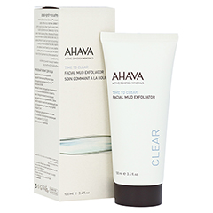 Ahava Facial Mud Exfoliator 100 Milliliter
