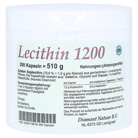 LECITHIN 1200 Kapseln 300 Stück