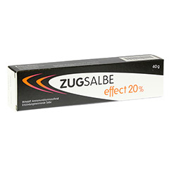 ZUGSALBE effect 20% Salbe 40 Gramm N1
