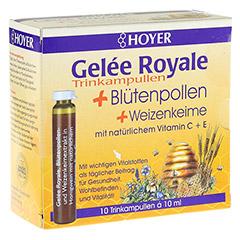 HOYER Gelee Royale+Blütenpollen+Weizenk.Trinkamp. 10x10 Milliliter